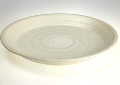Sand High Rim Dinner Plate
